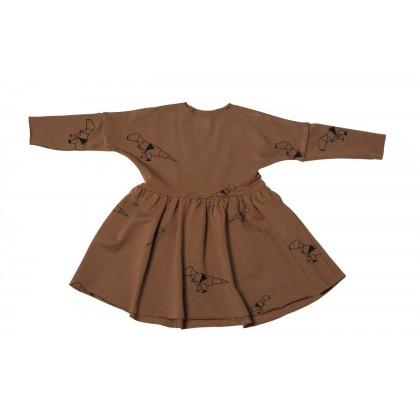 Wrinkle Dress dino