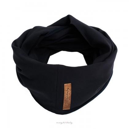 Tube-scarf graphite grey
