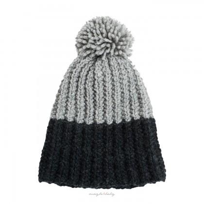 Winter Cap szara