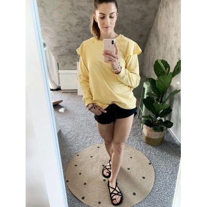 PREORDER * Butterflies Blouse yellow