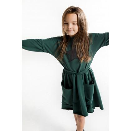 Pocket Dress green