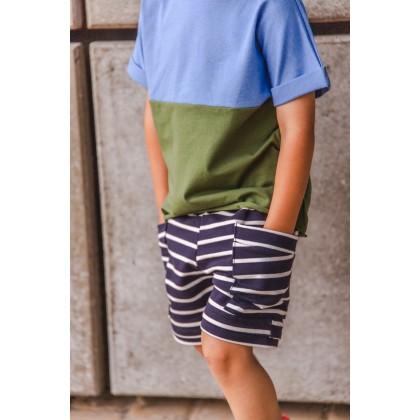 Short Baggy pocket  green