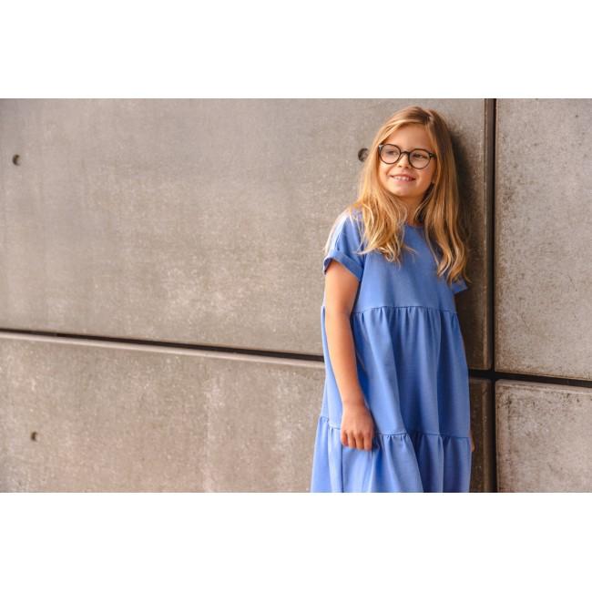 Loose Dress blue