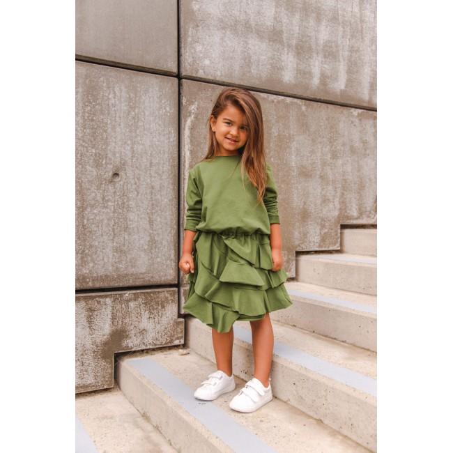 Spanish Dress green
