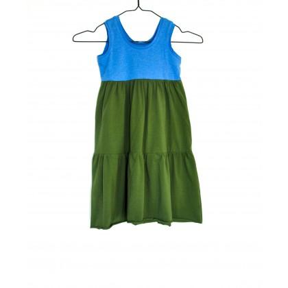Loose Dress boxer green / blue