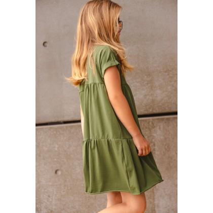 Loose Dress green