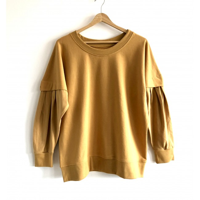 PRE-ORDER * Puffy Blouse mustard
