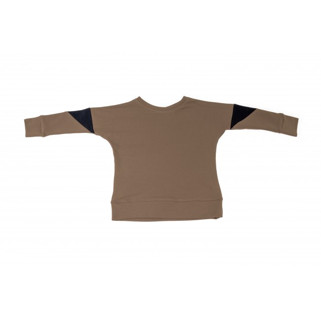 Triangle Blouse brown 4.4