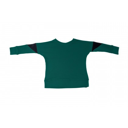 Triangle Blouse green 4.2