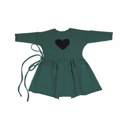 Pocket Dress green 17.2