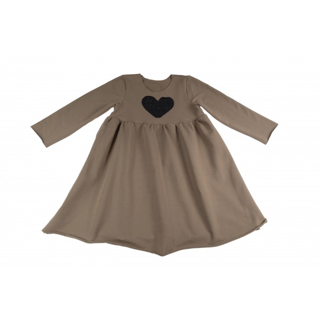 Loose Dress brown 16.4