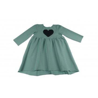 Loose Dress mint 16.5