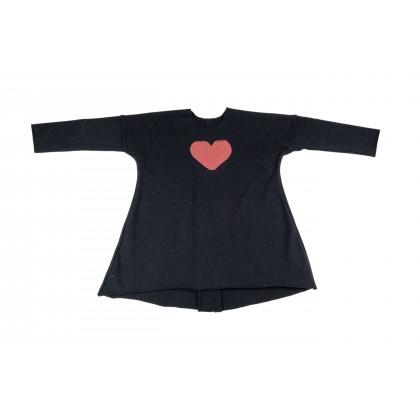 Wide Dress black 13.1