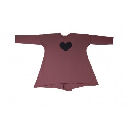 Wide Dress violet 13.3