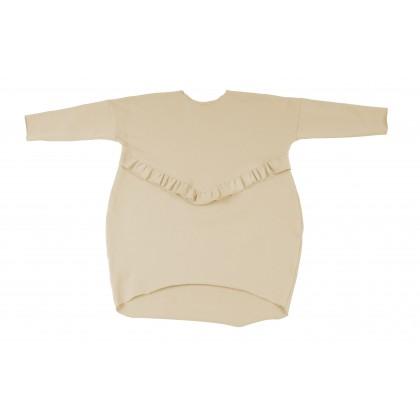 Frill Dress ecru 15.1