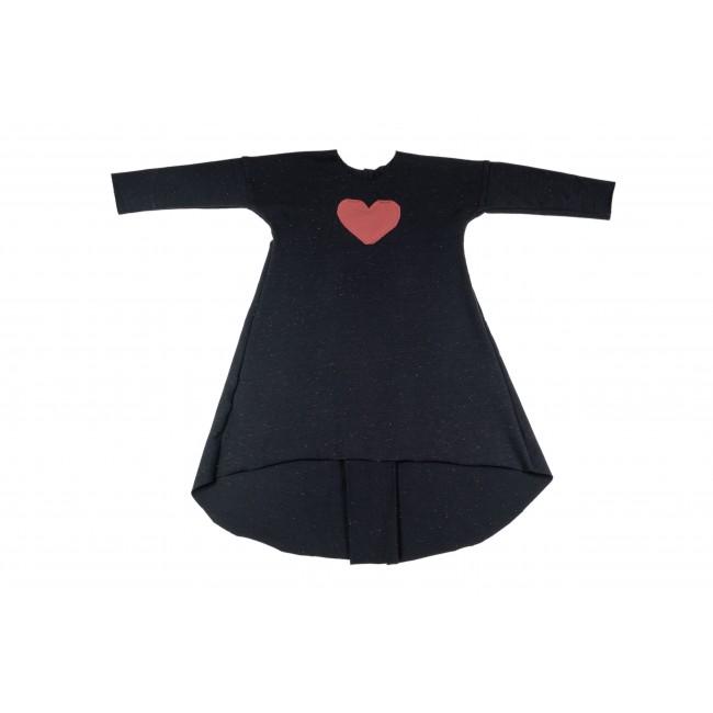 Long Wide Dress black 14.1