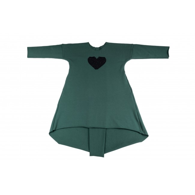 Long Wide Dress green 14.2