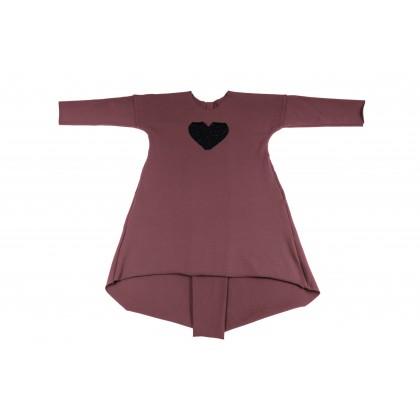 Long Wide Dress violet 14.3