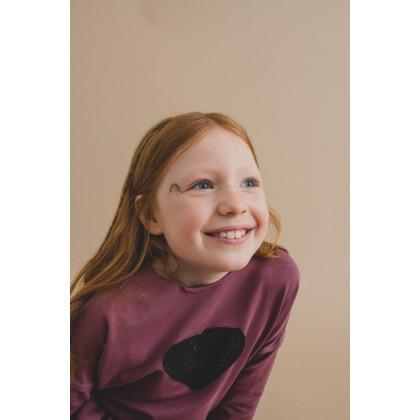 Pocket Dress violet 17.4