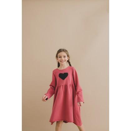 Loose Dress pink 16.3