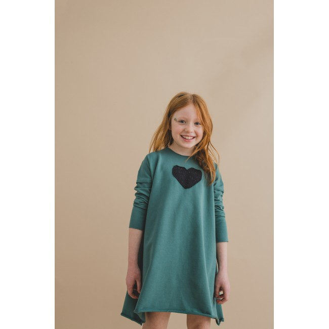 Wide Dress green 13.2